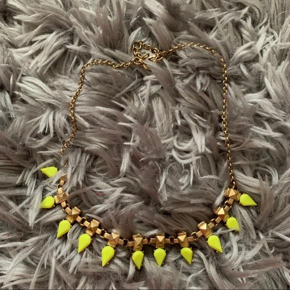 J. Crew Jewelry - J. Crew dainty neon necklace